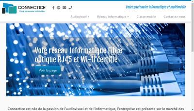 Site internet de Connectice