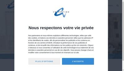 Site internet de Connection