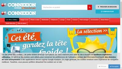 Site internet de Connexion