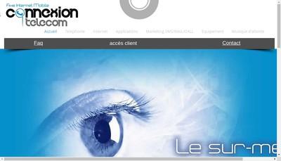 Site internet de Connexion Telecom
