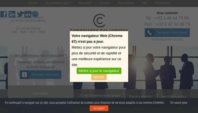 Site internet de Cgs Conseil