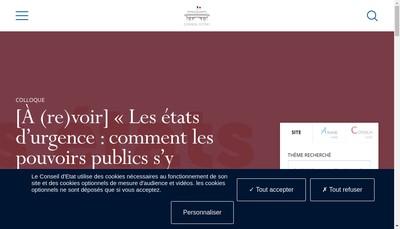 Site internet de Eat Conseil