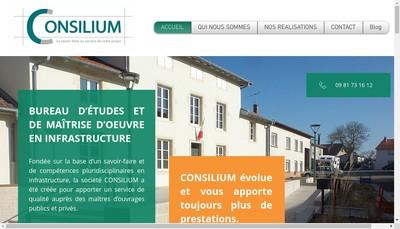 Site internet de Consilium