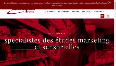 Site internet de Consopole Institut