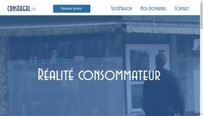 Site internet de Consoreal