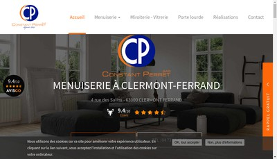 Site internet de Constant Perret