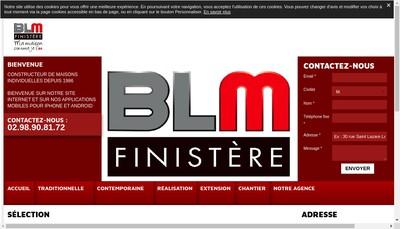 Site internet de BLM Quimper