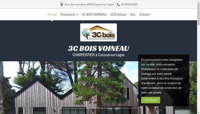 Site internet de 3C Bois Voineau