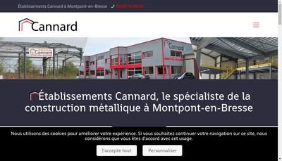 Site internet de Etablissements Cannard