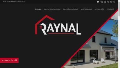 Site internet de Les Constructions Raynal