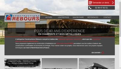 Site internet de Construction Rebours