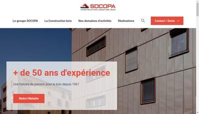 Site internet de Socopa