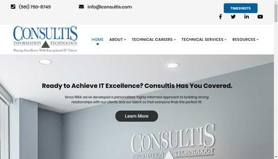Site internet de Consultis