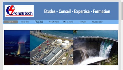 Site internet de Consutech