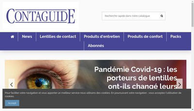 Site internet de Le Contaguide