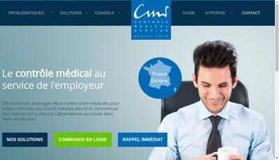 Site internet de Controle Medical Service