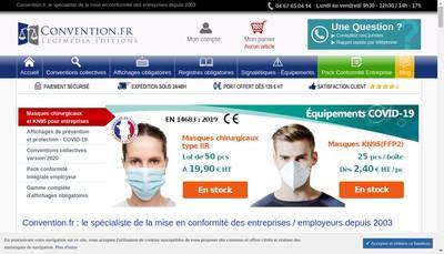 Site internet de Documents Fr Convention Fr Legimedia Legimedia Fr Editions Legimedia