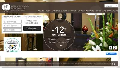 Site internet de Yvett'S Hotel