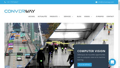 Site internet de Converway