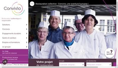 Site internet de Convivio-Ltr