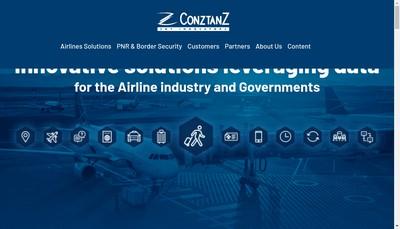 Site internet de Conztanz SA