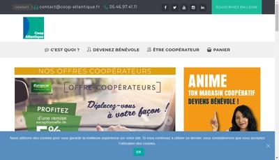 Site internet de Coop