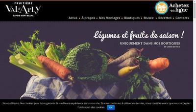 Site internet de Societe Coop Fruitiere Val d'Arly