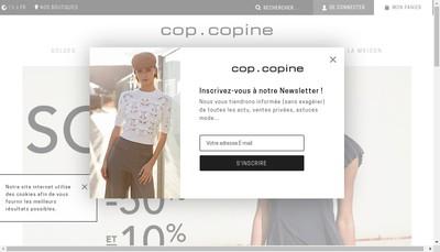 Site internet de Cop Copine