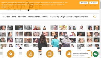 Site internet de Coperbee
