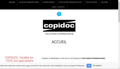 Site internet de Copidoc