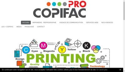 Site internet de Copifac