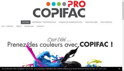 Site internet de Abc Photocopie