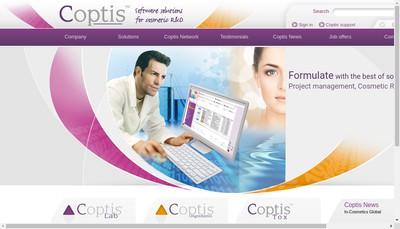Site internet de Coptis