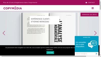 Site internet de Copy-Media