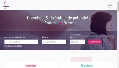 Site internet de Corallis