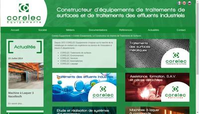 Site internet de Corelec Tubalex