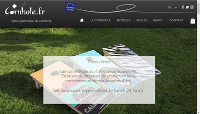 Site internet de Ycar Diffusion