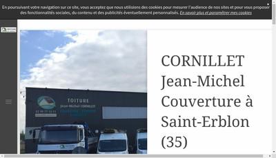 Site internet de Jm Cornillet