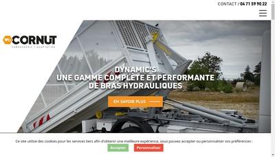 Site internet de Ralentisseur Dynamics