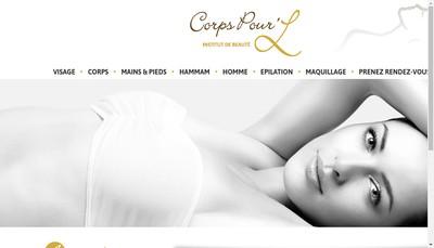 Site internet de Corps pour L