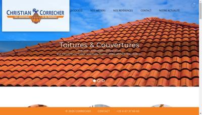 Site internet de Christian Correcher
