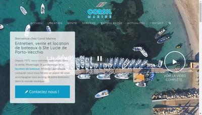 Site internet de Corsil