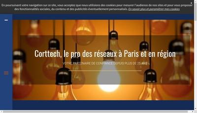 Site internet de Corttech