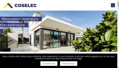 Site internet de Coselec