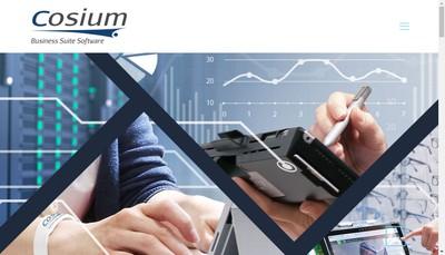 Site internet de Cosium