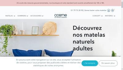 Site internet de Cosme