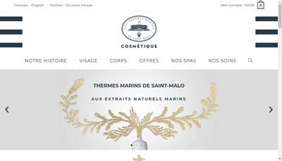 Site internet de Cosmobeaute