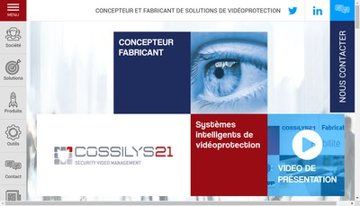 Site internet de Cossilys 21