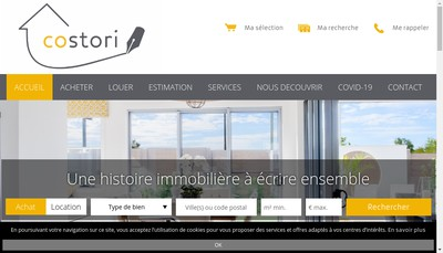 Site internet de Costori