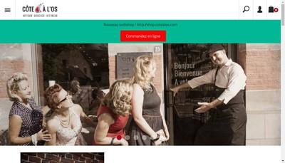 Site internet de La Cote a l'Os